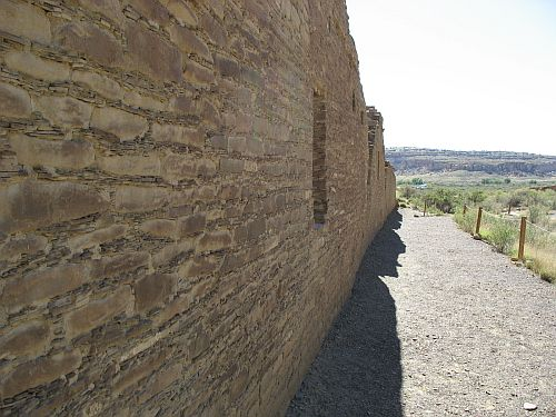 Back Wall of Chetro Ketl