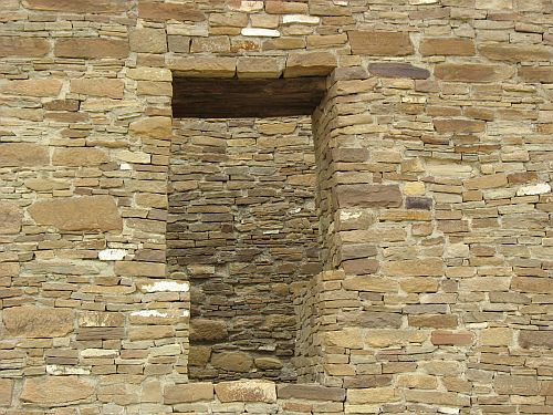 T-Shaped Doorway at Pueblo del Arroyo