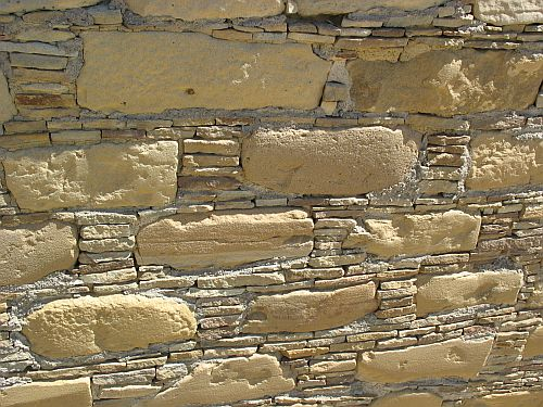 Type III Masonry, West Side of Pueblo Bonito