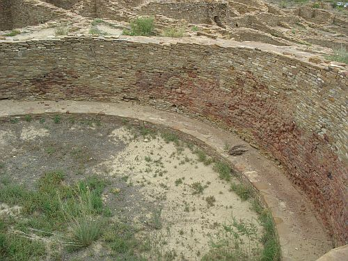 Burned Kiva at Pueblo del Arroyo