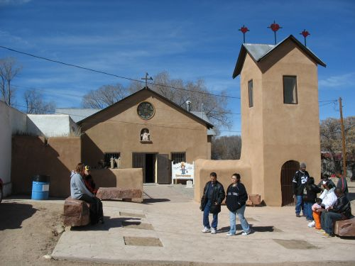 Chapel of the Holy Child of Atocha in Chimayo, New Mexico