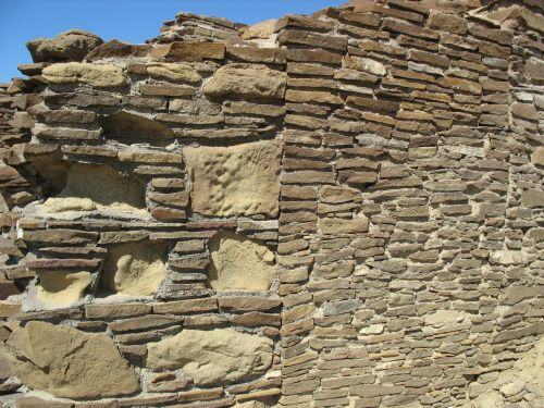 Different Masonry Types at Kin Bineola