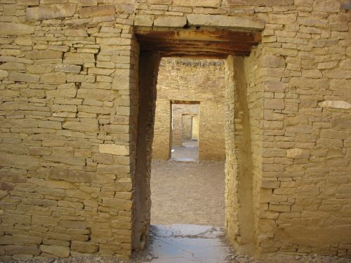 Obligatory Shot of Aligned Doorways at Pueblo Bonito
