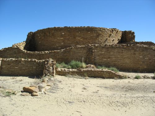 Elevated Kiva G at Chetro Ketl