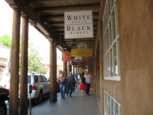 White House/Black Market, Santa Fe, New Mexico