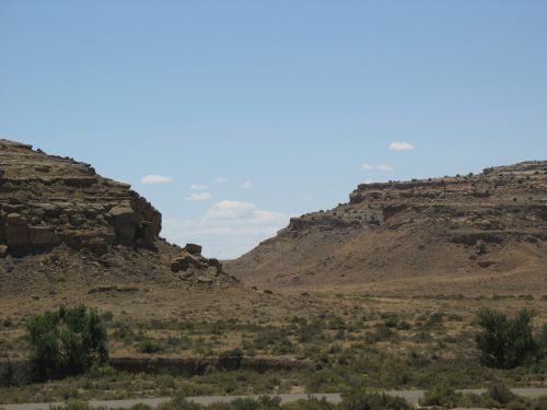 South Gap from Pueblo Bonito