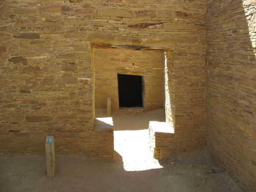 Interior T-Shaped Doorway, Pueblo Bonito