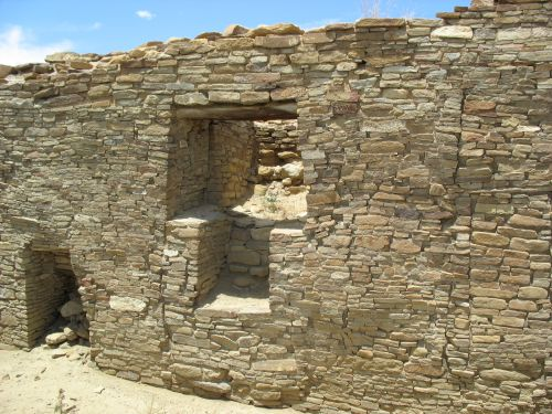 T-Shaped Doorway with Step at Pueblo Bonito