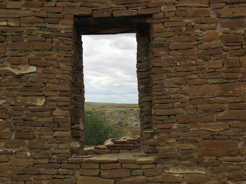 View from Doorway at Pueblo del Arroyo
