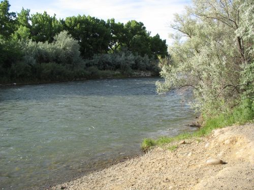 Animas River, Farmington, New Mexico
