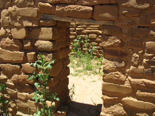 Doorway at Far View House, Mesa Verde