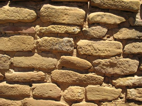 Masonry at Far View House, Mesa Verde