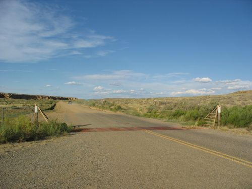 North Entrance to Chaco on County Road 7950