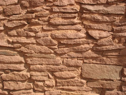 Masonry at Wukoki Pueblo, Wupatki National Monument