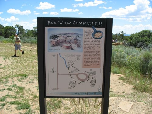 Far View Communities Sign, Mesa Verde