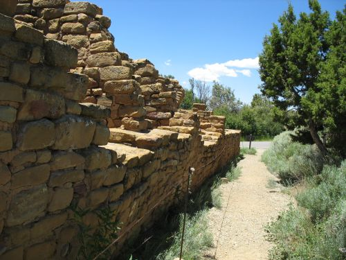 Back Wall of Far View House, Mesa Verde