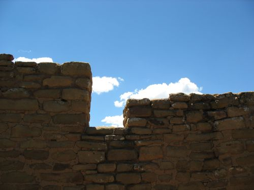 Upper-Story Doorway at Far View House, Mesa Verde