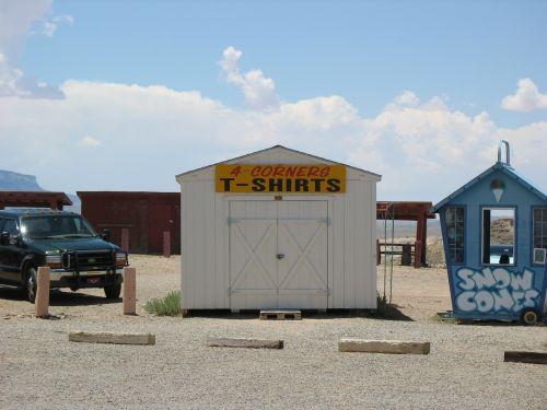 T-Shirt Shed at Four Corners Monument
