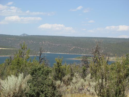 McPhee Reservoir from McPhee Campground, Site of 2009 Pecos Conference