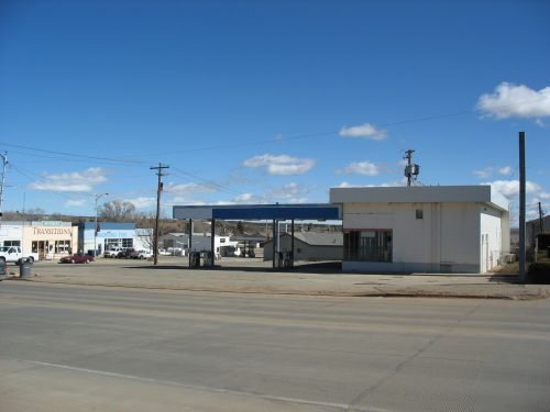 Abandoned Gas Station, Blanding, Utah