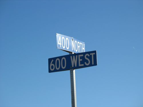 400 North 600 West, Blanding, Utah