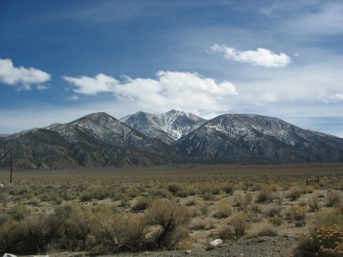 Boundary Peak, the Highest Point in Nevada
