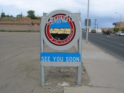 """See You Soon"" Sign, Farmington, New Mexico"