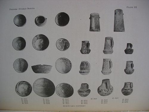 Plate III: Mortuary Pottery