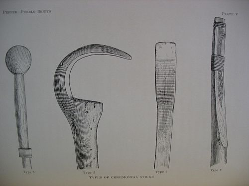 Plate IV: Types of Ceremonial Sticks