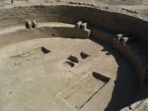 Great Kiva at Salmon Ruin